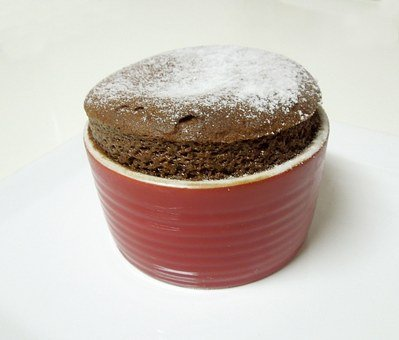 Chocolate Soufflé with Nutella